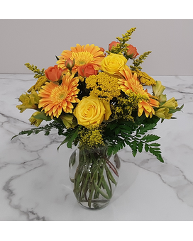 Rising Sun Flower Arrangement