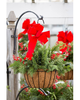 Winter Green Hanging Basket Custom product