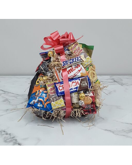 Junk Food Basket Gift Basket