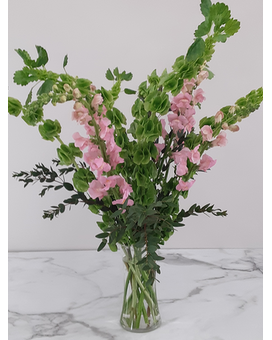Bubblegum Bells Flower Arrangement