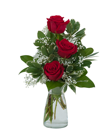 Simply Roses Flower Arrangement