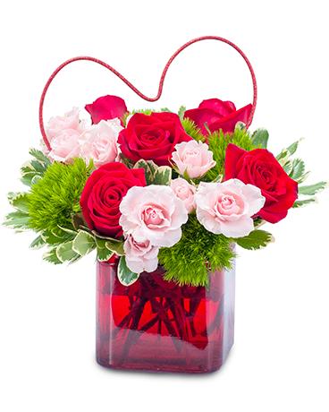Pure heart in bonita springs fl heaven scent flowers inc pure heart flower arrangement mightylinksfo