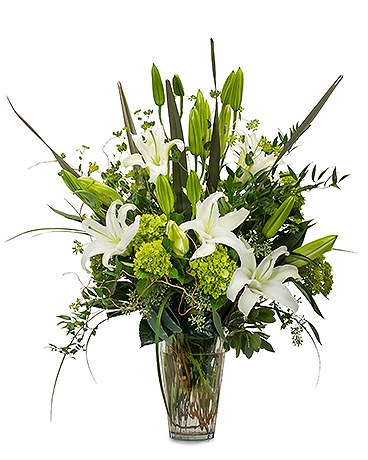 Naturally Elegant Flower Arrangement