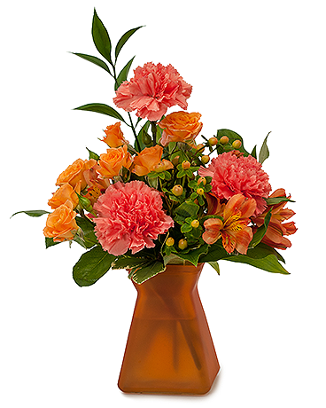 Orange Dream Flower Arrangement