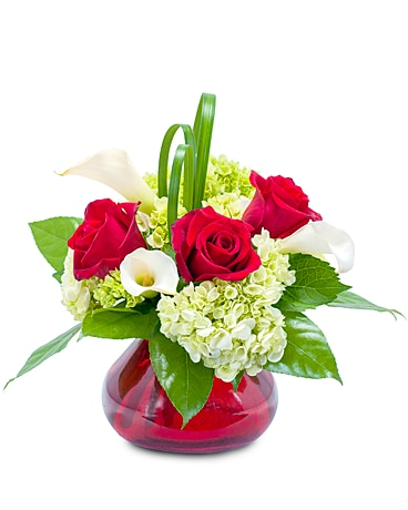Chic Romance Flower Arrangement