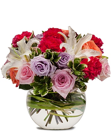 Potpourri of Roses Flower Arrangement