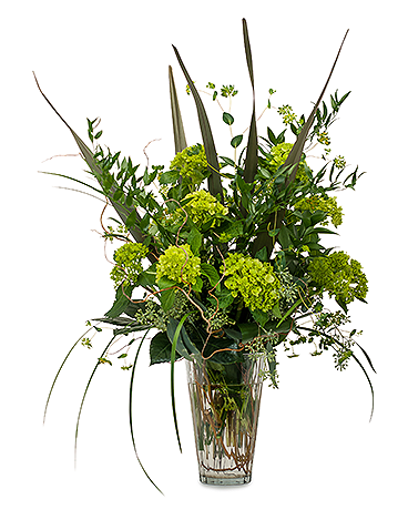 Natural Green Flower Arrangement