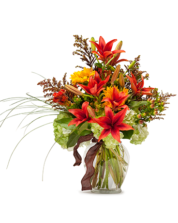 Fields of Autumn Flower Arrangement