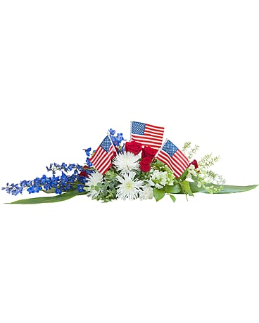Honor and Glory Centerpiece Funeral Arrangement