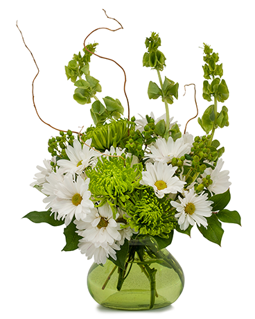 Bells and Willow Flower Arrangement