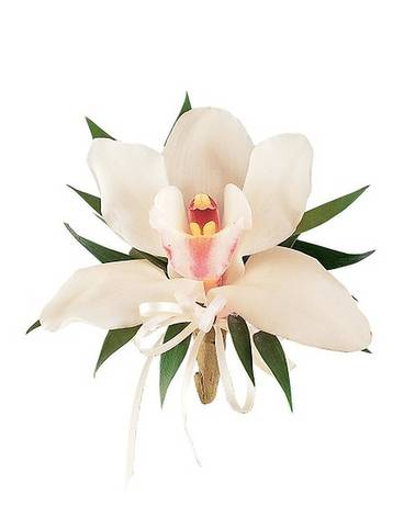Cymbidium Orchid Corsage Flower Arrangement