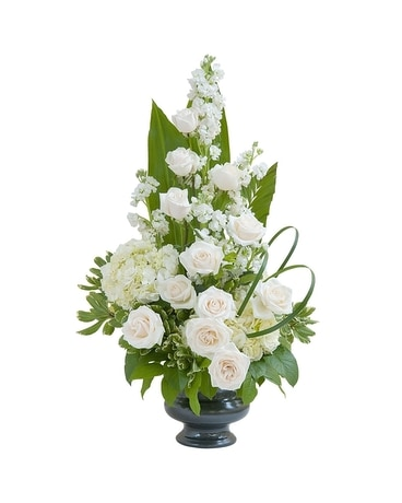 Elegant Love Urn Flower Arrangement