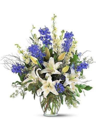 Sapphire Miracle Arrangement Flower Arrangement