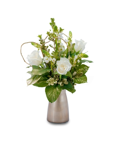 Champagne Flower Arrangement