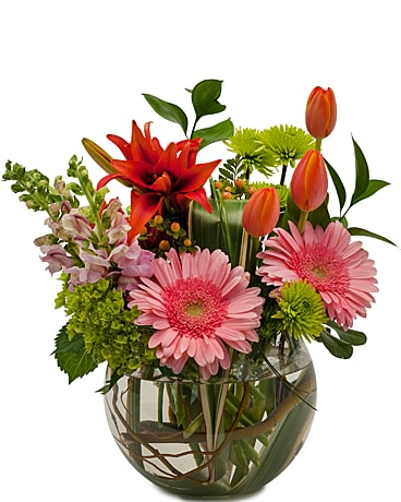 Splendor Surprise Flower Arrangement