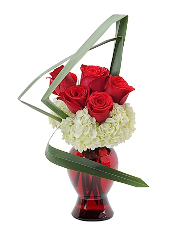 Abstract Love Flower Arrangement