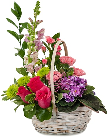 Tisket Tasket Flower Arrangement