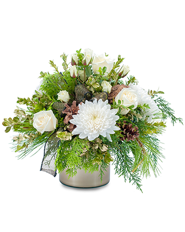 Simply Peaceful Flower Arrangement