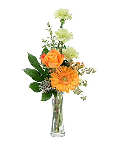 Orange U Glad Flower Arrangement