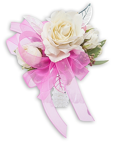 Crystal Pink Flower Arrangement