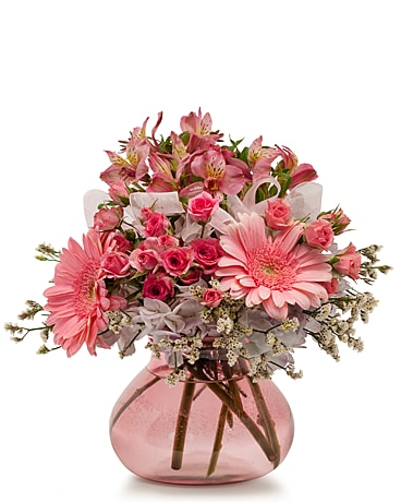 Bashful Flower Arrangement