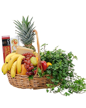 Fabulous Fruit and Cheese Basket Gift Basket