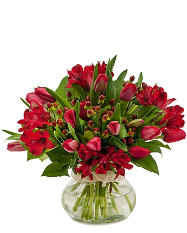 Tulip Supreme Flower Arrangement