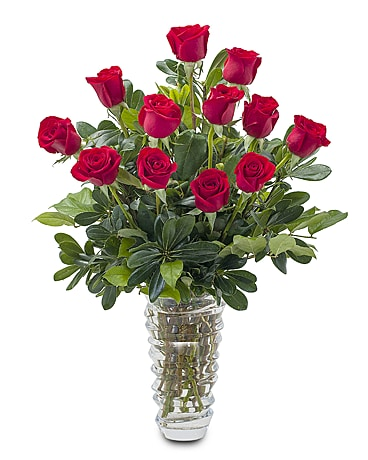 Premium Romance Flower Arrangement