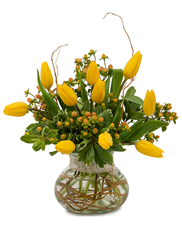 Fresh New Day Flower Arrangement