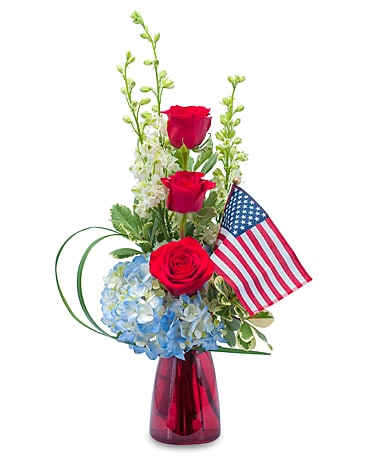 Patriot Flower Arrangement