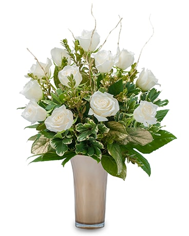 Champagne Toast Flower Arrangement