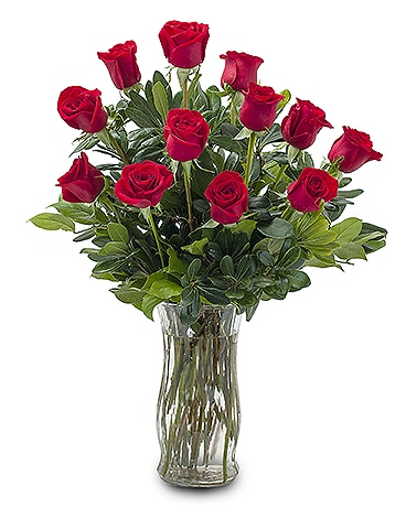 Classic Romance Flower Arrangement
