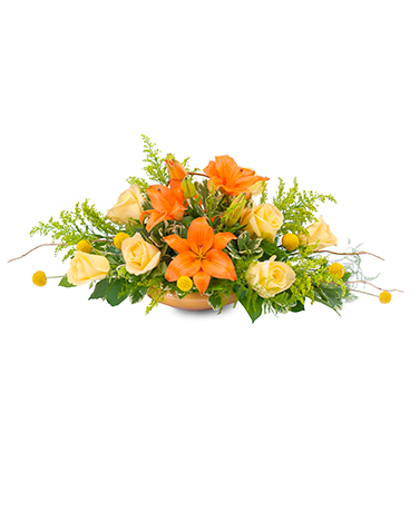 Blooming Fall Flower Arrangement