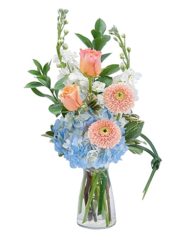 Creamsicle Flower Arrangement