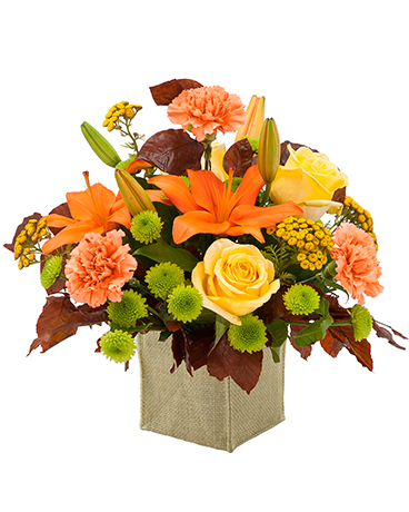Autumn Prairie Flower Arrangement