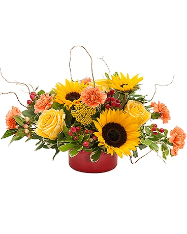 Harvest Garden Flower Arrangement