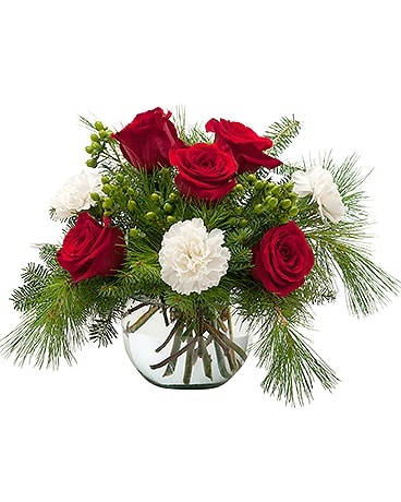 Winter Escapade Flower Arrangement