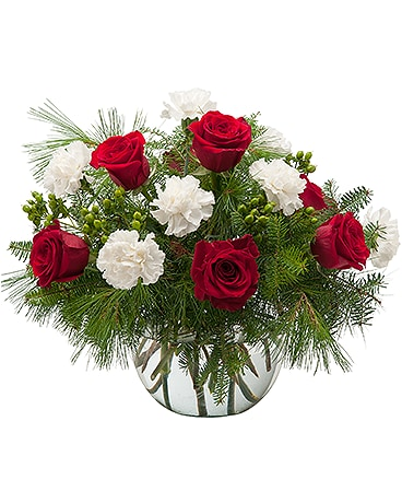 Winter Tidings Flower Arrangement