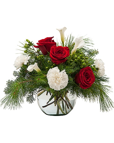 Winter Class Flower Arrangement