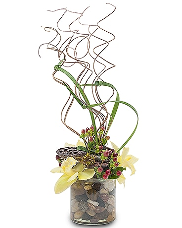 Urban Zen Flower Arrangement