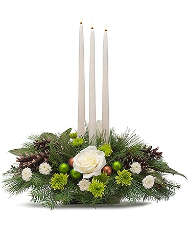 Winters Day Flower Arrangement