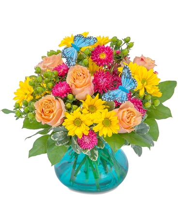 Flutter Days Flower Arrangement