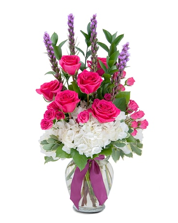 Pampered Pink Flower Arrangement