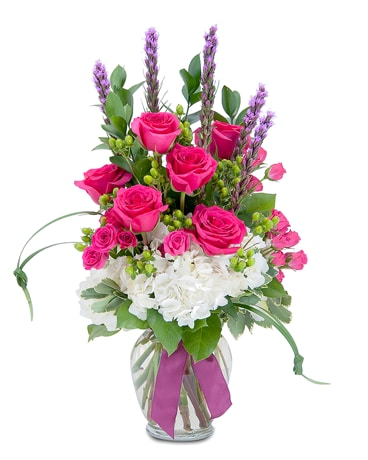 Plentiful Pink Flower Arrangement
