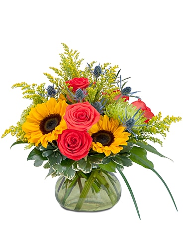 Sunlit Bounty Flower Arrangement