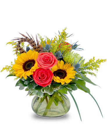 Sunrise Harvest Beauty Flower Arrangement