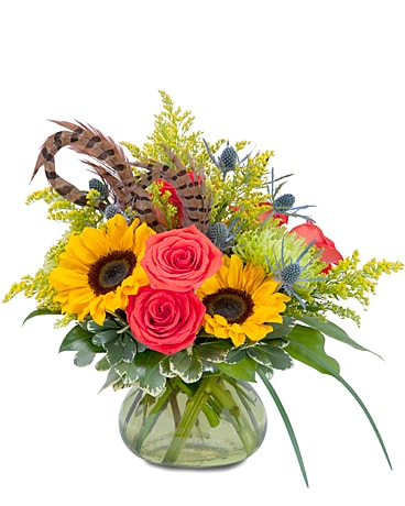 Sunrise Harvest Bounty Flower Arrangement