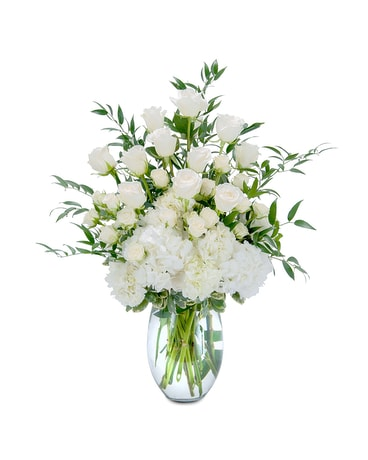 Purely Elegant Flower Arrangement