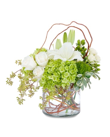 Chic and Styled Flower Arrangement
