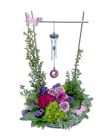 Pastel flutterbye in bonita springs fl heaven scent flowers inc pastel flutterbye flower arrangement mightylinksfo